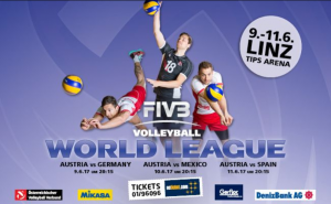FIVB WORLD LEAGUE TURNIER in LINZ @ TIPS ARENA | Linz | Oberösterreich | Österreich