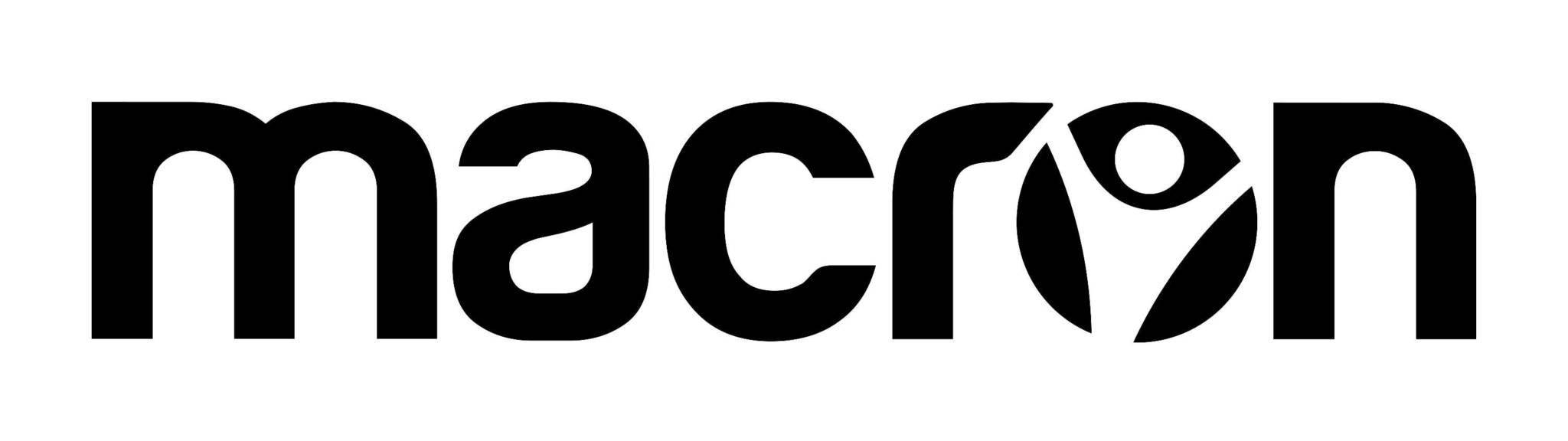 2016 Macron Logo Neg